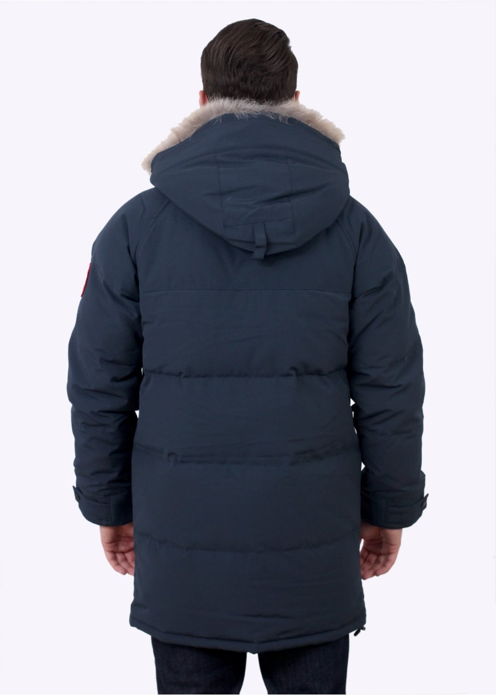 Canada Goose Emory Parka Ink Blue Canada Goose From