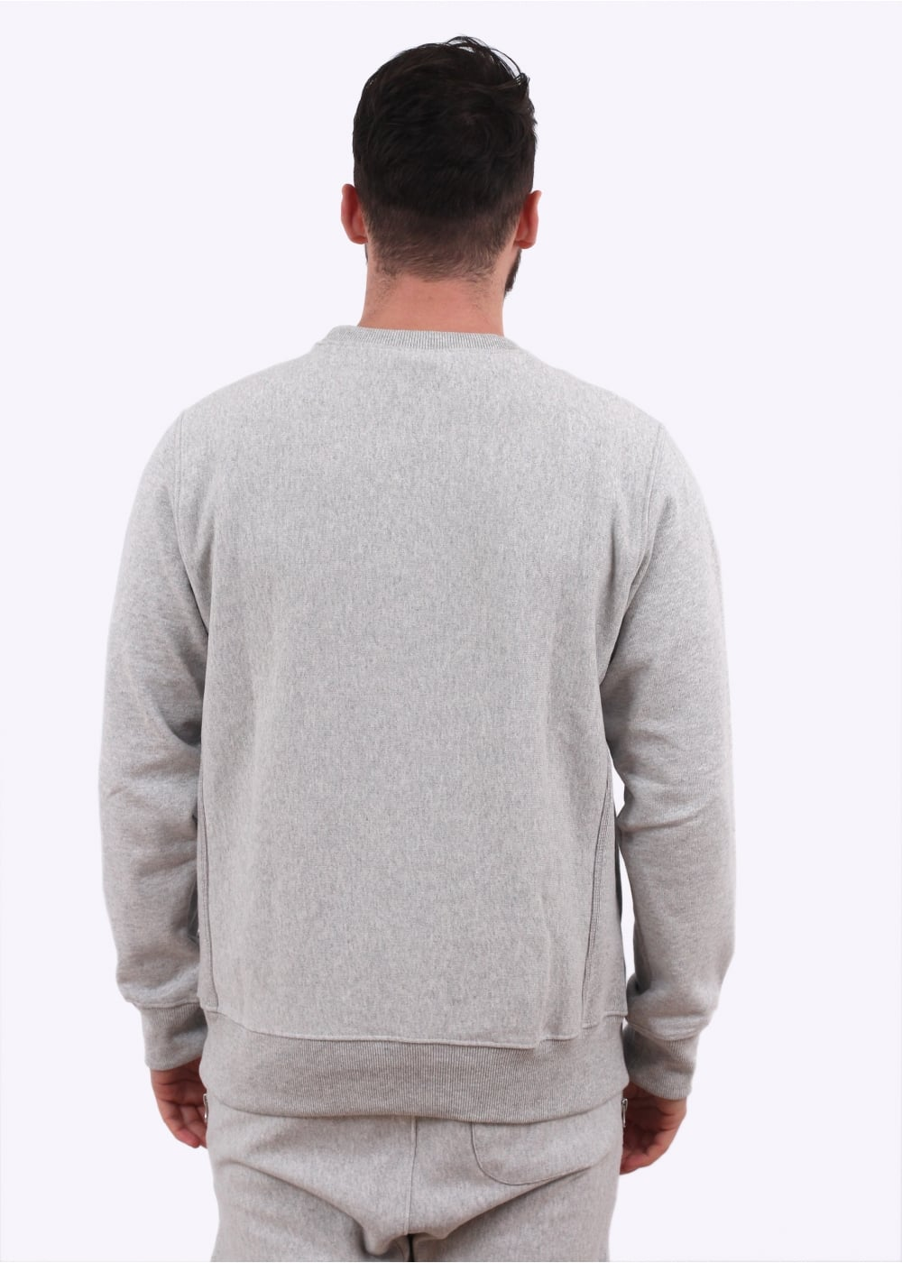Champion X Beams Crewneck Sweater Light Grey Champion