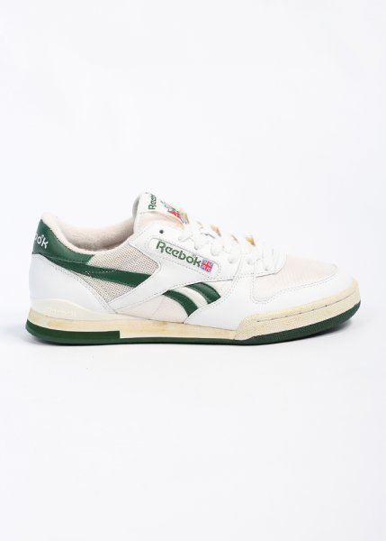 Reebok Phase 1 Pro Trainers - White Green fcb87336a