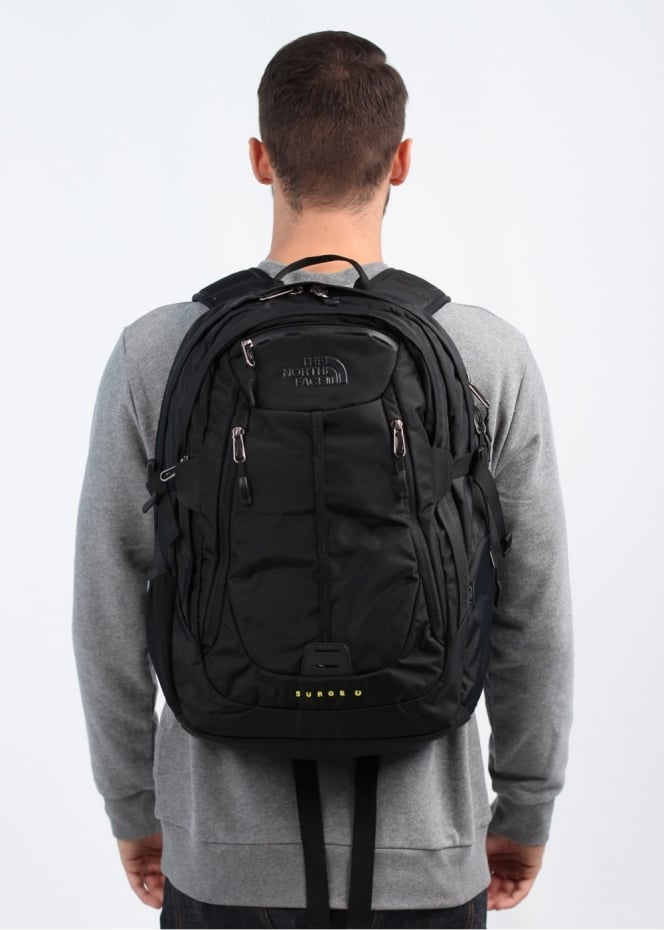 dbc9c8757 The North Face Surge II Charged Backpack Bag - Black