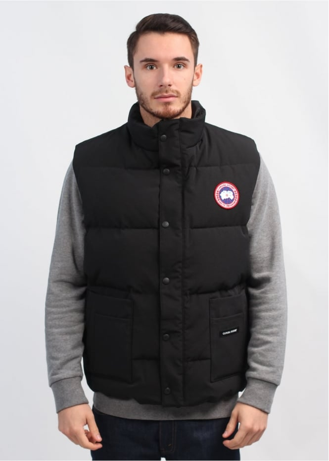 canada goose freestyle gilet black