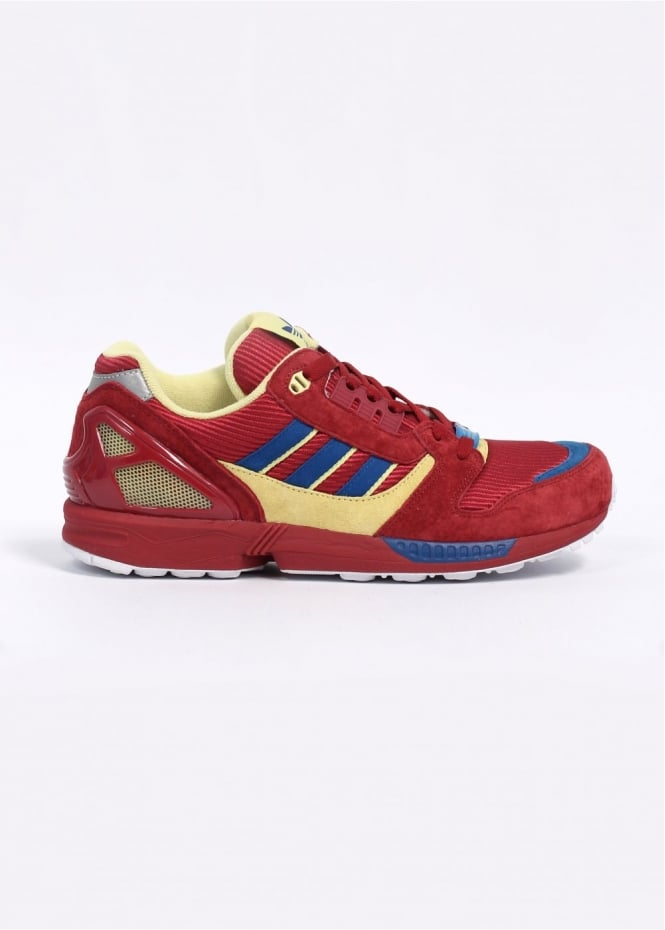 9ee969b7ca1e0 adidas Originals ZX 8000  25th Anniversary  Trainers - Royal Red