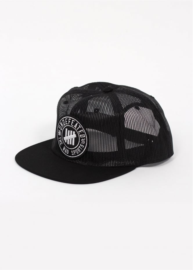 UNDFTD Bad Sports Mesh Trucker Cap - Black a1e1caa49c83