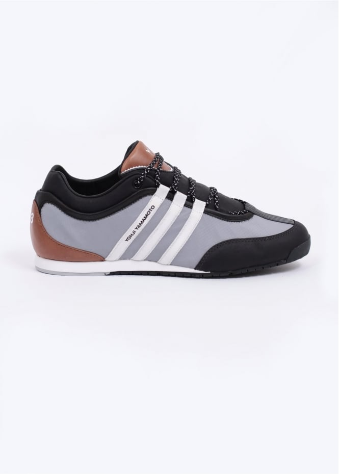 8dce1396780a adidas Y3 Boxing Trainers - Black   Grey
