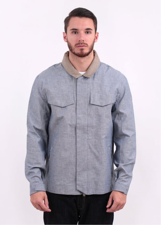 Levi's Red Tab Commuter Hooded Field Jacket - Cliff Grey