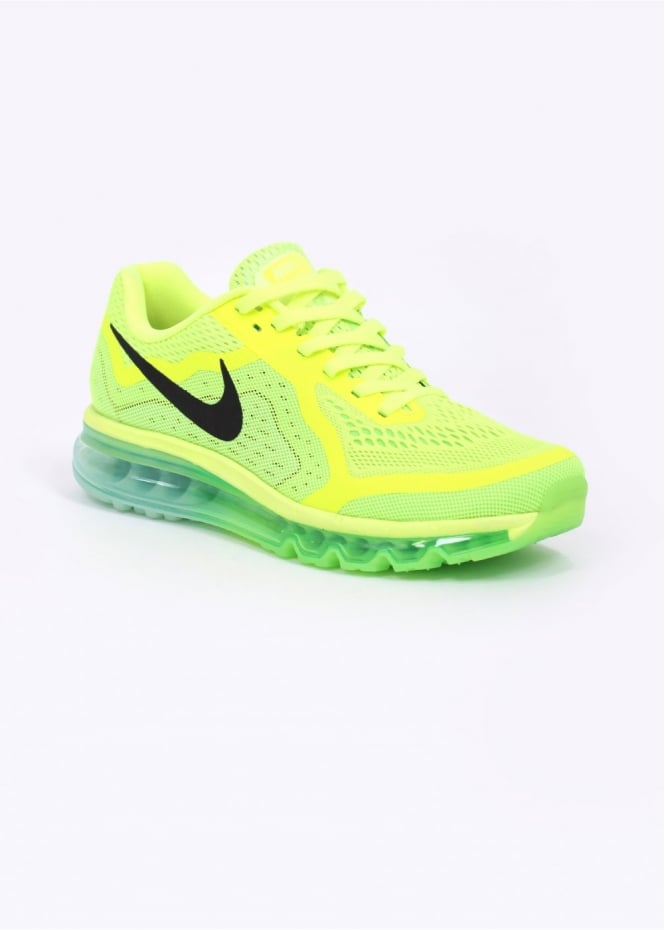Nike Air Max 2014 Trainers - Neon Green