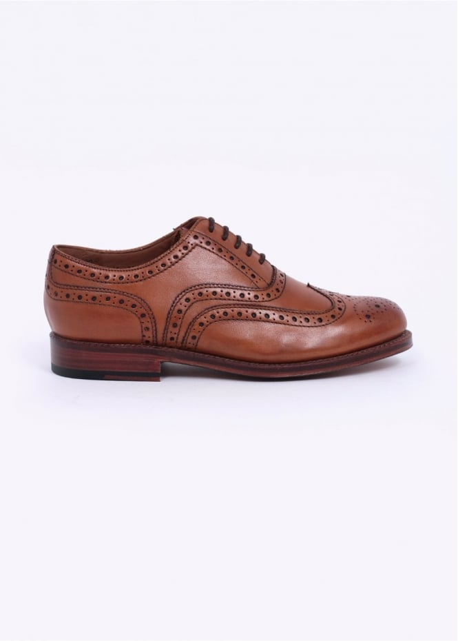Grenson Stanley Brogue - Tan