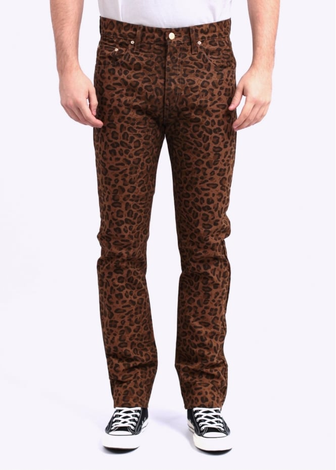 Carhartt Deep Mid Pants - Leopard / Brown