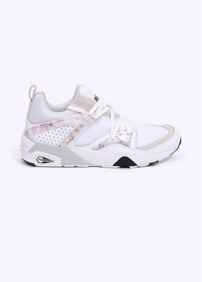 Puma CREAM Blaze of Glory 'Marble Pack' Trainers - Marble White / Black