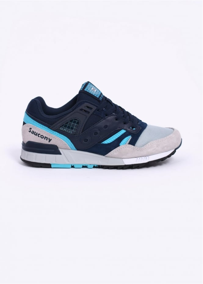 Saucony Grid SD Games Trainers - Navy / Grey