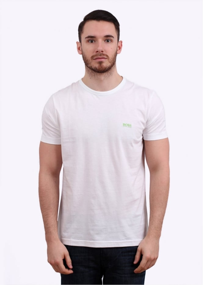 Hugo Boss Logo Tee - White