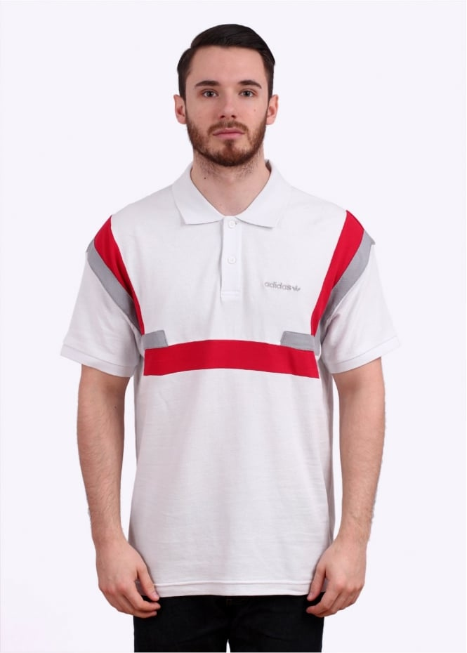 Adidas Originals Apparel Brion Polo Shirt - Vintage White