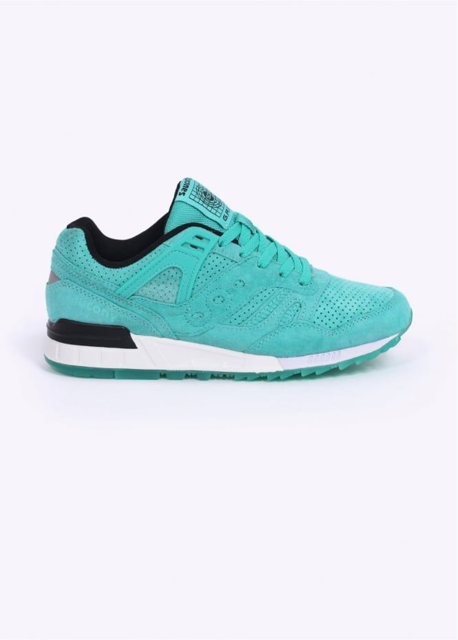 Saucony Grid SD Trainers - Light Green