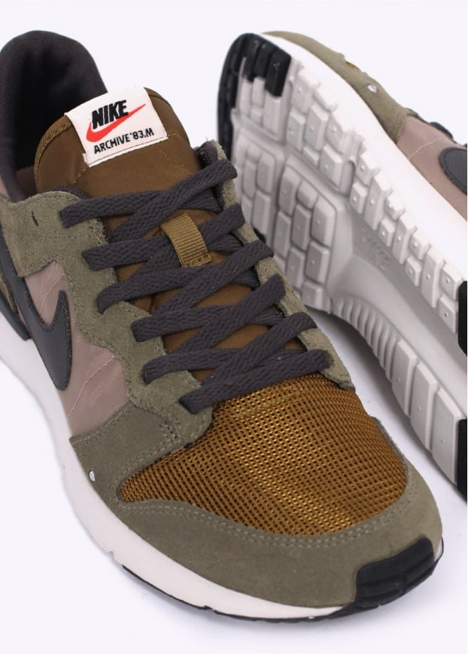huge sale 492e6 472c5 Archive   039 83.M Trainers - Medium Olive   Deep Pewter