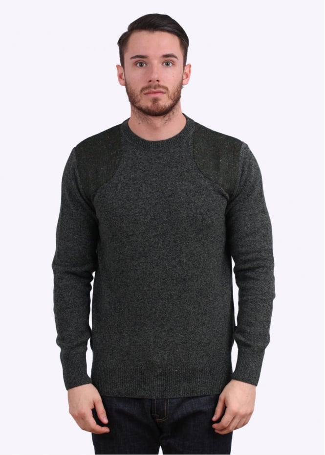 Barbour Abraham Crew Jumper - Green