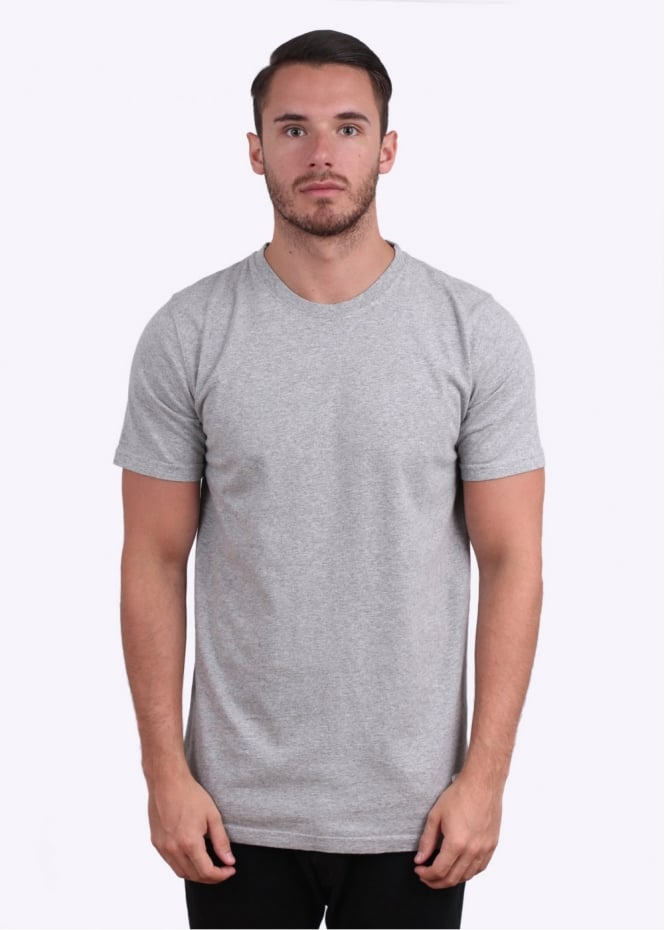 Norse Projects Neils Basic Short Sleeve Tee - Grey Melange