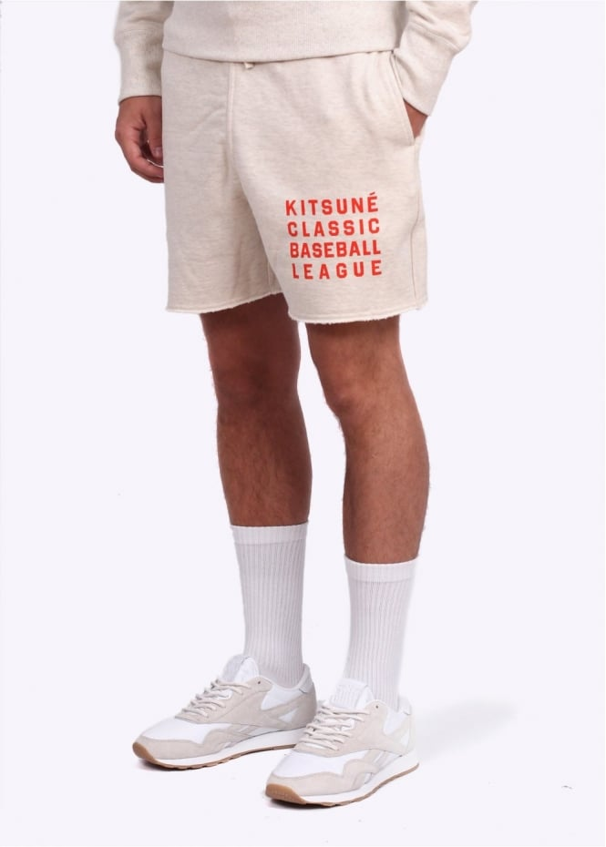 Reebok Baseball Shorts - Cream / White