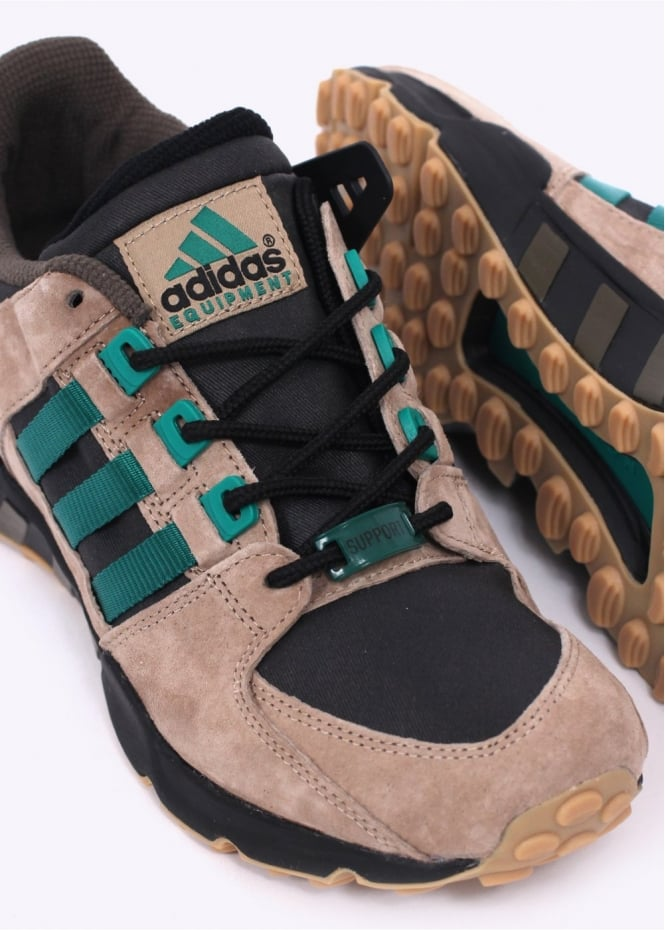 adidas Originals EQT Support 93 Core BlackSub Green Spark  Kicks
