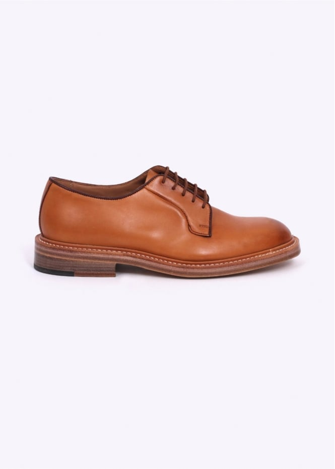 by Triads 1001 Derby Shoes - Burnished Tan