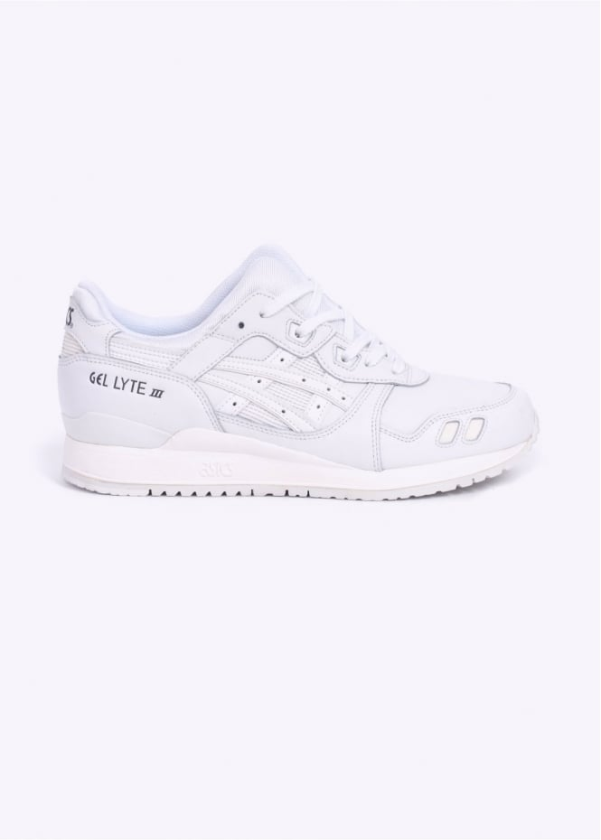 Asics Gel Lyte III Trainers - Triple White