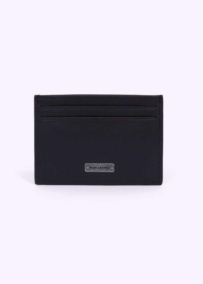 Hugo Boss Accessories / Boss Orange - Bertis Card Holder - Black