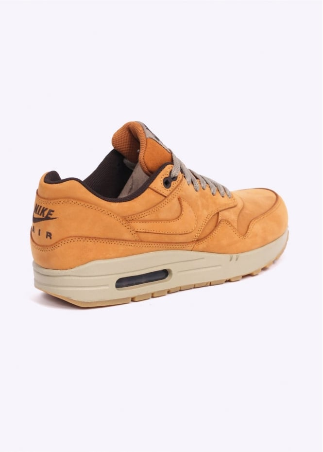 info for e1cd9 4870c Air Max 1 Leather Premium   039 Wheat  039  Trainers - Bronze