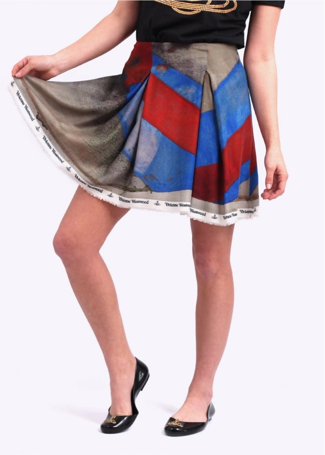 Vivienne Westwood Womens Trail Skirt - Multi Coloured