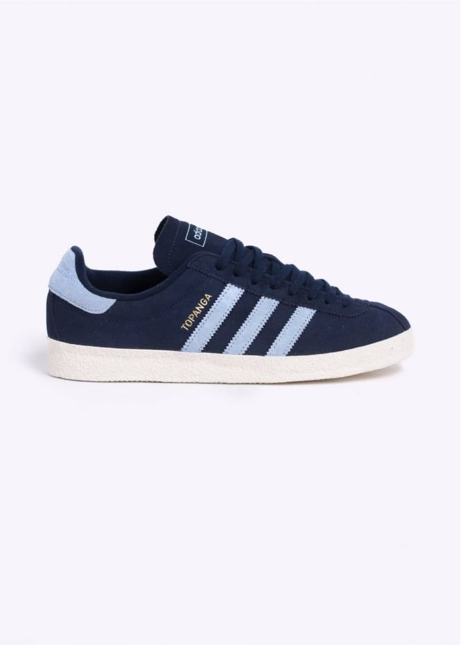 Adidas Originals Footwear Topanga Trainers - Navy