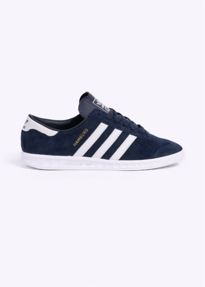 Adidas Originals Footwear Hamburg Trainers - Navy
