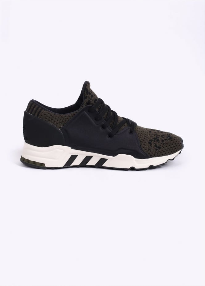 Adidas Originals Footwear EQT 1/3 AthLeisure Trainers - Dusty Green / Core Black
