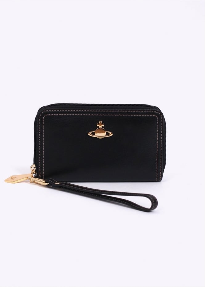 Vivienne Westwood Accessories Foglio Primrose Purse - Black