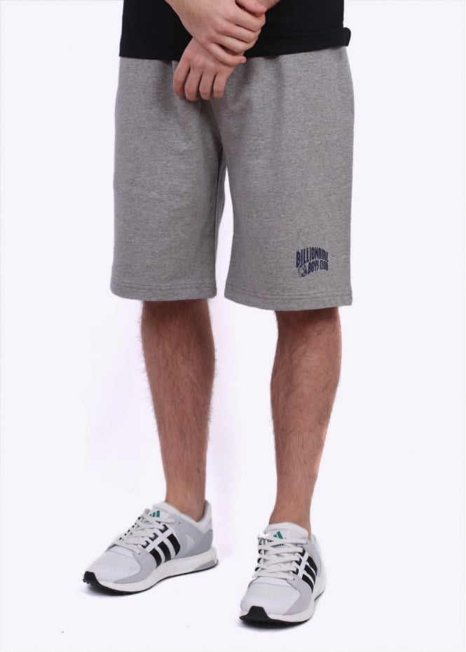 Billionaire Boys Club Arch Logo Sweatshorts - Heather Grey