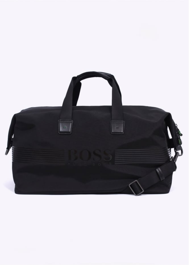 Hugo Boss Accessories Pixel Holdall - Black