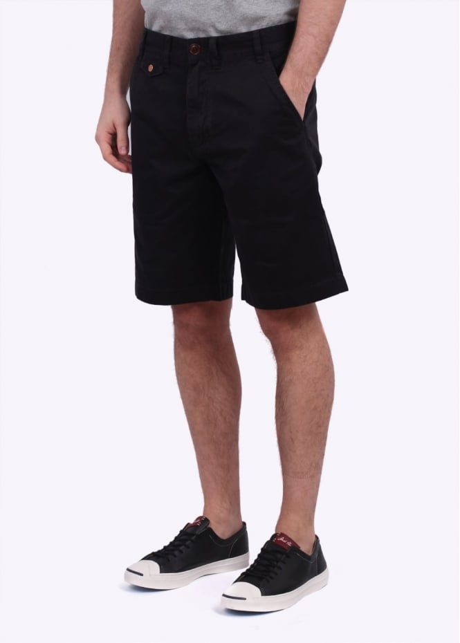 Barbour Neuston Twill Shorts - Navy