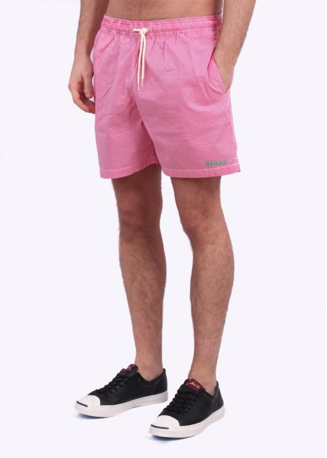 Barbour Striped Shorts - Pink