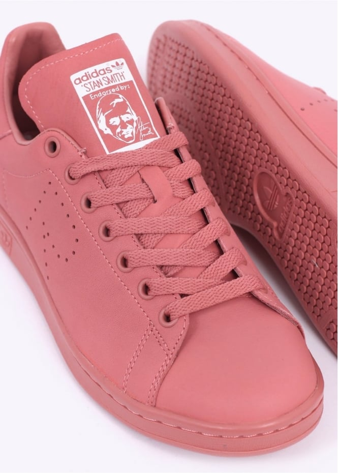 sports shoes 540ad 78497 adidas Originals by Raf Simons Stan Smith - Ash Pink