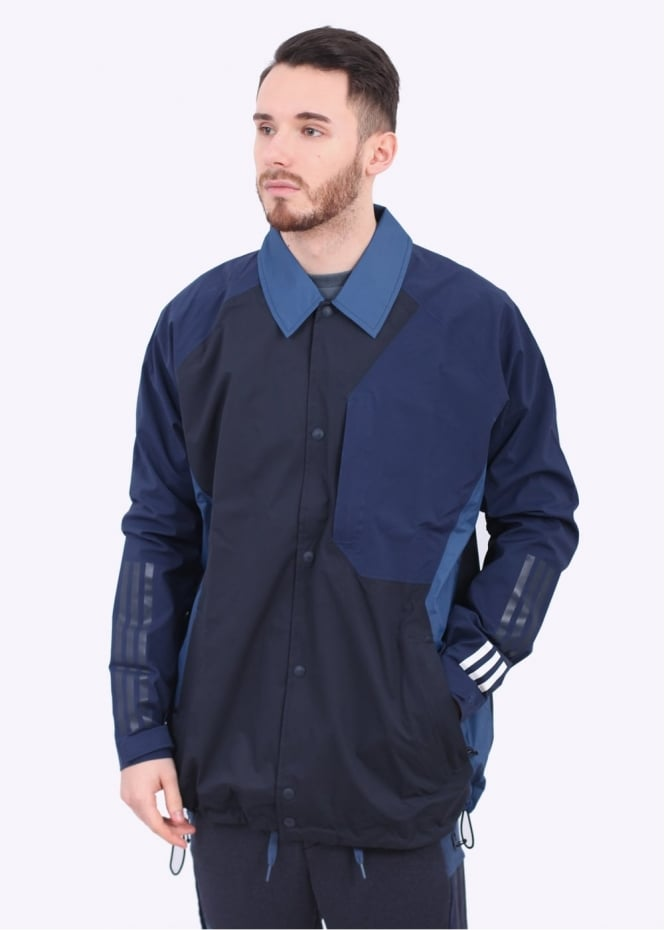 Adidas Originals Apparel x White Mountaineering Bench Jacket - Navy