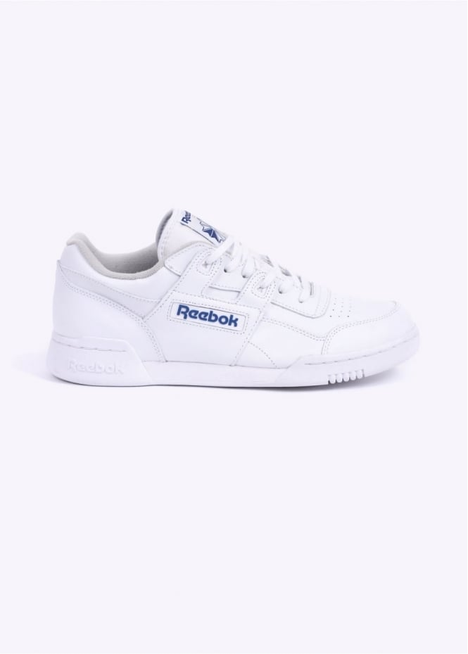 Reebok Workout Plus Trainers - White