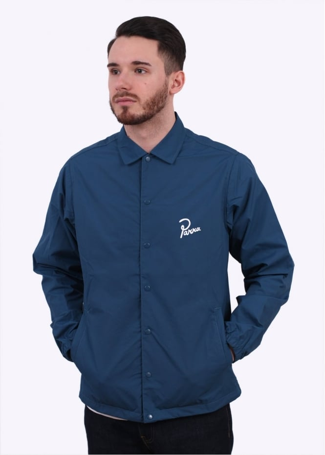 Parra Coach Jacket - Mallard Green