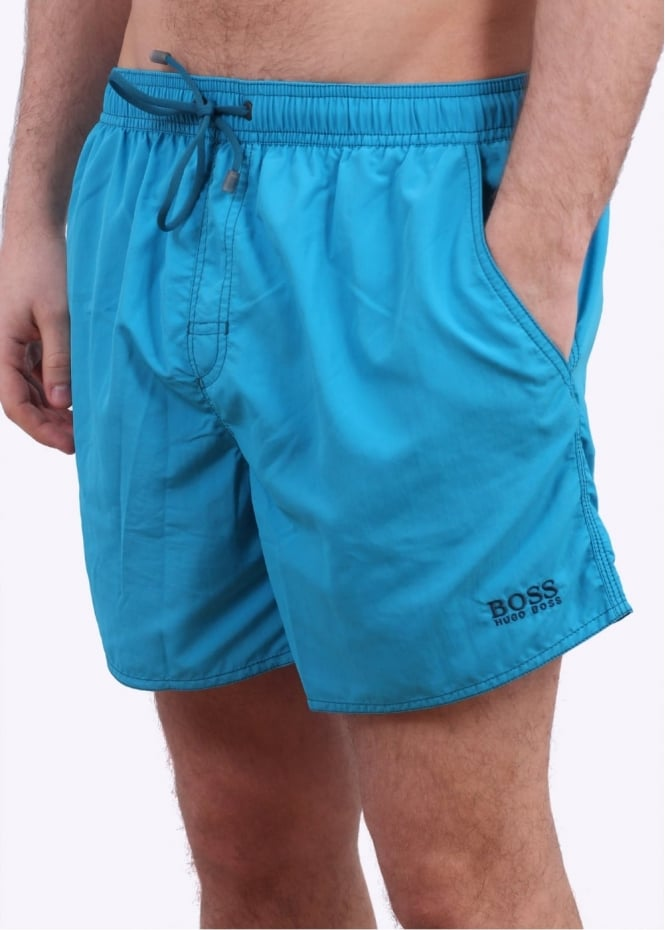 Hugo Boss Lobster Shorts - Turquoise