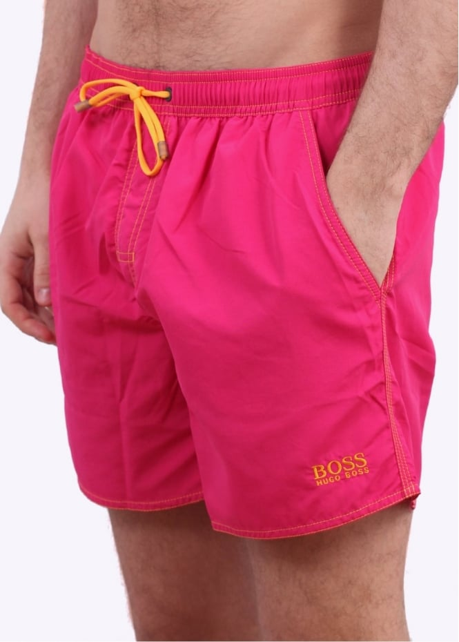 Hugo Boss Lobster Shorts - Bright Pink
