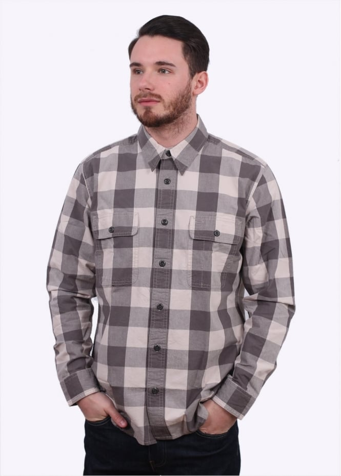 Filson Lightweight Kitsap Work Shirt - Flint Grey