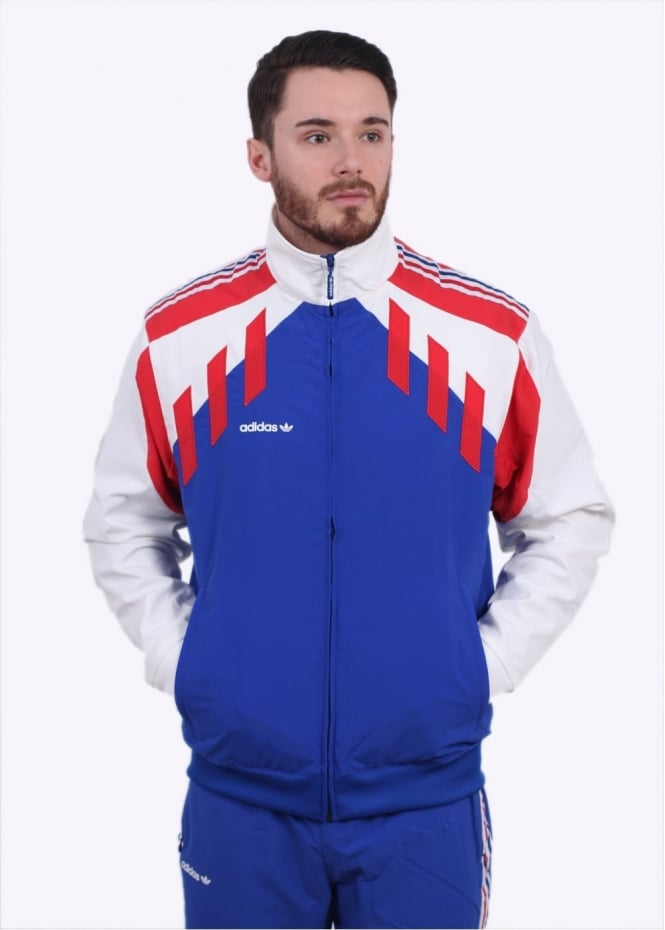 Adidas Originals Apparel Tri Colore TT - Blue