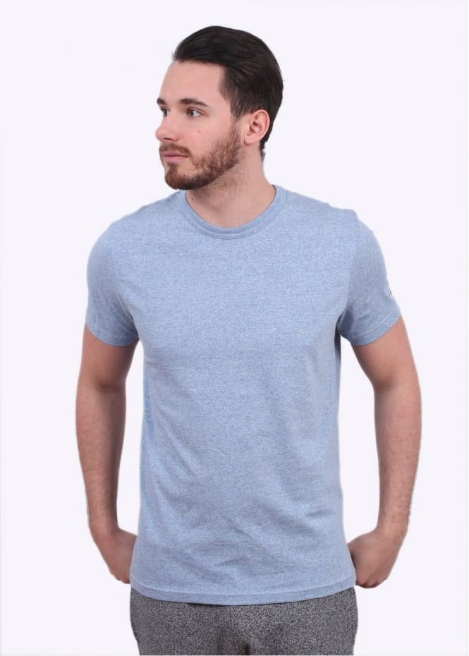 Champion Reverse Weave Classic SS Tee - Light Blue Mix