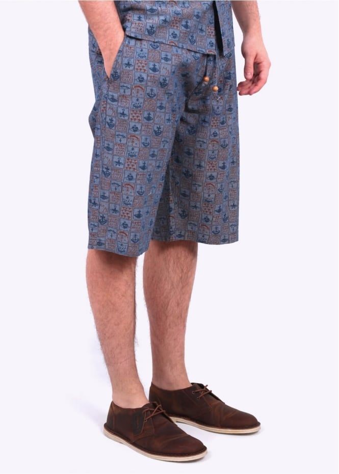 Vivienne Westwood Anglomania Bob Shorts - Navy
