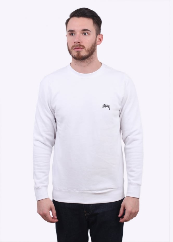 Stussy Back Arc Sweater - White