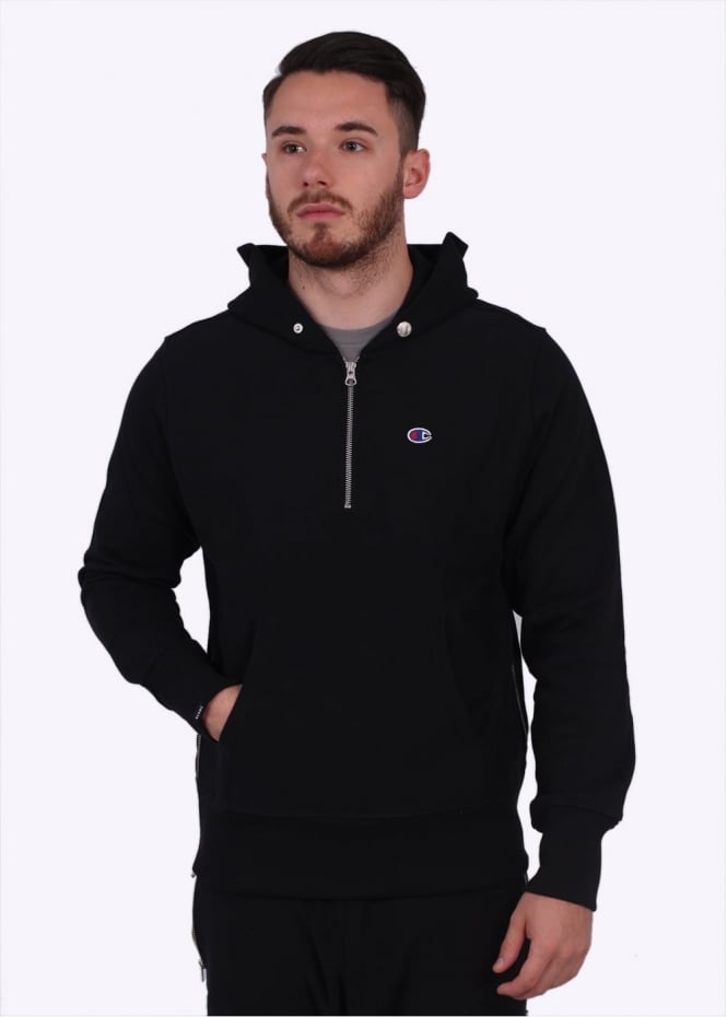 Champion x BEAMS Hoodie - Black