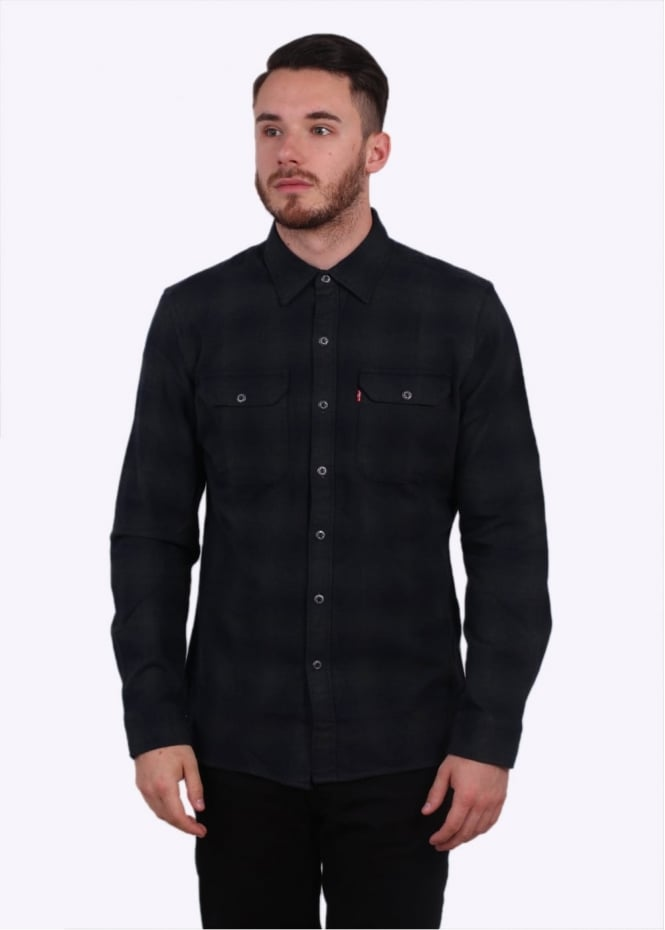 Levi's Red Tab Jackson Worker Shirt - Licorice