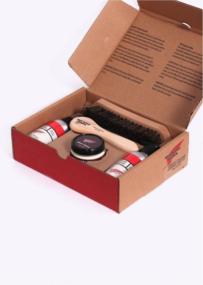 Red Wing Shoes Smooth Finish Gift Pack