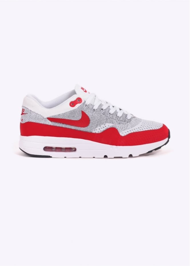 Nike Footwear Air Max 1 Ultra Flyknit - White / University Red